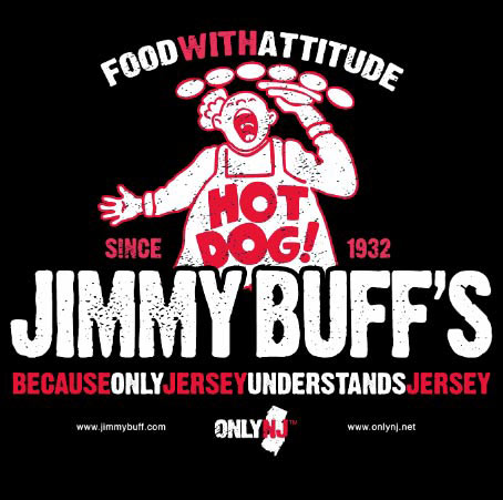 Jimmy Buff's T-Shirt Front